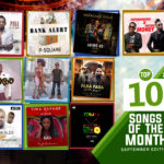 Top 10 Songs For The Month Of September