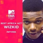 Wizkid Wins Best African Act @ MTV EMA 2016
