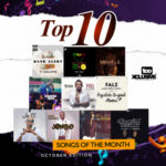 Top 10 Songs For The Month Of October