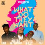 "Bimax Empire – ""What Do They Want"" ft. Yole Da RapstaMan, Sage, Hiflux"