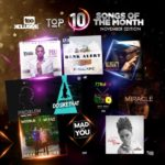 Top 10 Songs For The Month Of November