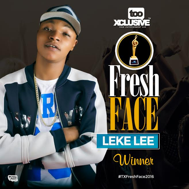 Leke Lee Wins #TXFreshFace2016 Competition!