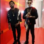 Falz TheBahdGuy And Reekado Banks On Set Of New Music Video