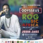 Jesse Jagz Headlines ROG MUSIC Africa VOL.1: The Takeoff