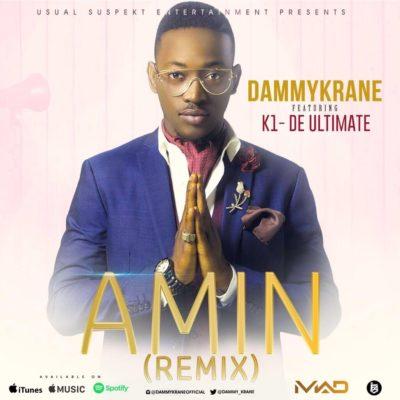 Dammy Krane  -  Amin (Remix) ft. Kwam 1