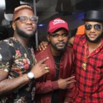 Lit Night Out With Kcee, Falz And Skales For Music+ Unplugged Anniversary (WATCH)