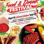 Food, drinks, games, live music and an awesome after party @ the Lagos International Food and Drinks Festival this April!