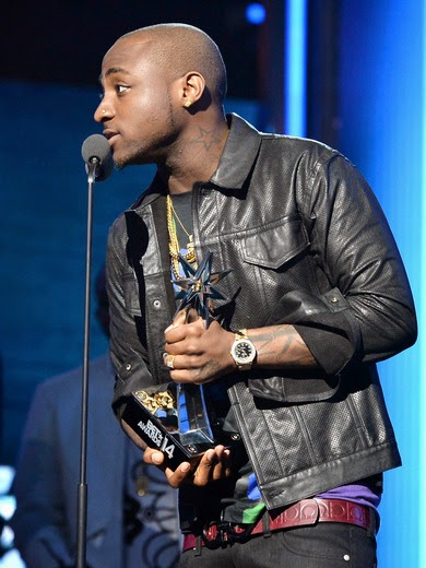 Image result for davido bet award pictures