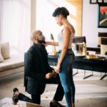 Finally! Banky W Is Engaged To Popular Nollywood Actress, Adesua Etomi