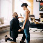 Finally! Banky W Is Engaged To Popular Nollywood Actress, Adesua Etomi