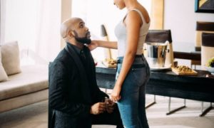 Alas! Banky W Is Engaged To Popular Nollywood Actress, Adesua Etomi