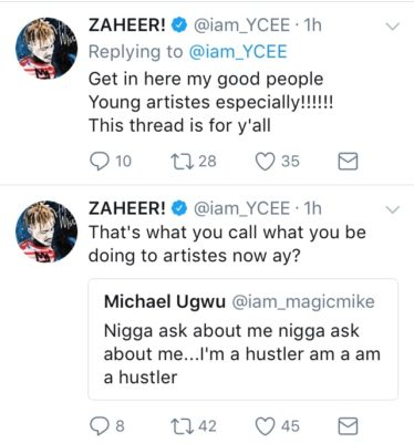 Ycee Blasts Head Of Sony Music Africa, Says The Deal Is A Scam