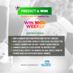 Predict EPL Matches & Win 100K