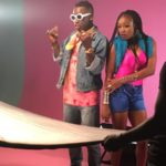 BTS PHOTOS: Omihanifa – Wave Remix f. Olamide