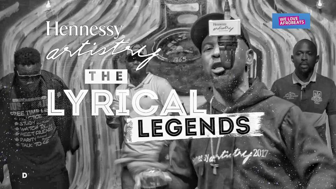 "HENNESSY CYPHER 2017 Finale: Watch Ruggedman, Kunle Bello, Six O and Dark Poet In ""The OG Session"""