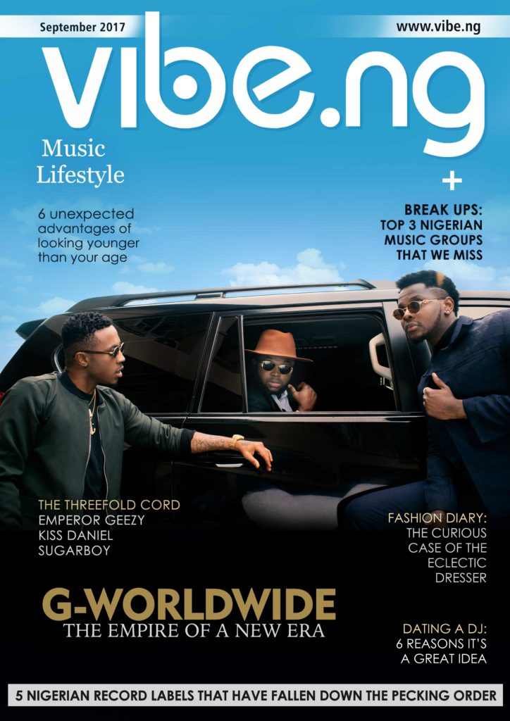 Kiss Daniel, Sugarboy & Emperor Geezy All Slay On The Latest Issue Of Vibe.ng Magazine