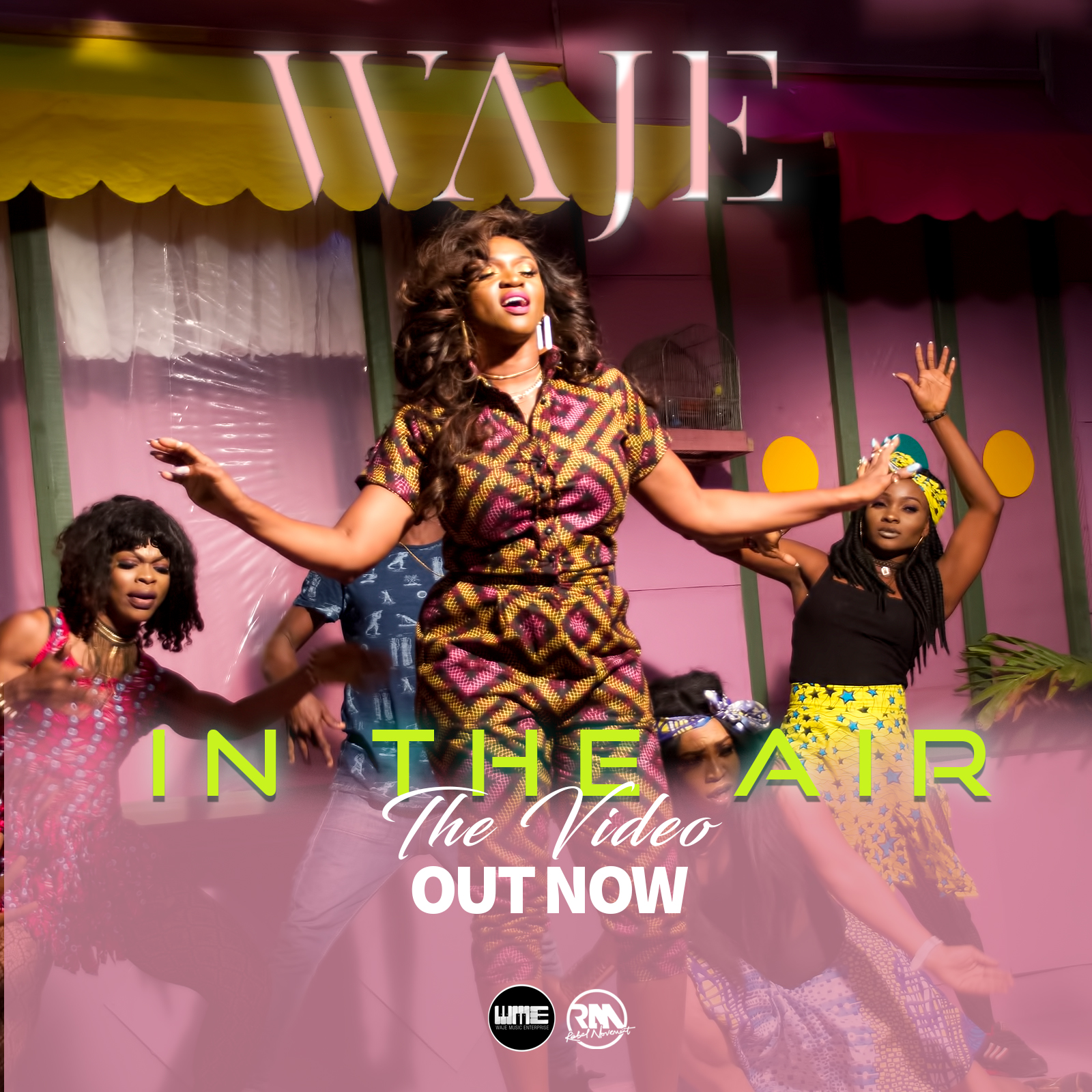 """[VIDEO]: Waje – """"In The Air"""""""