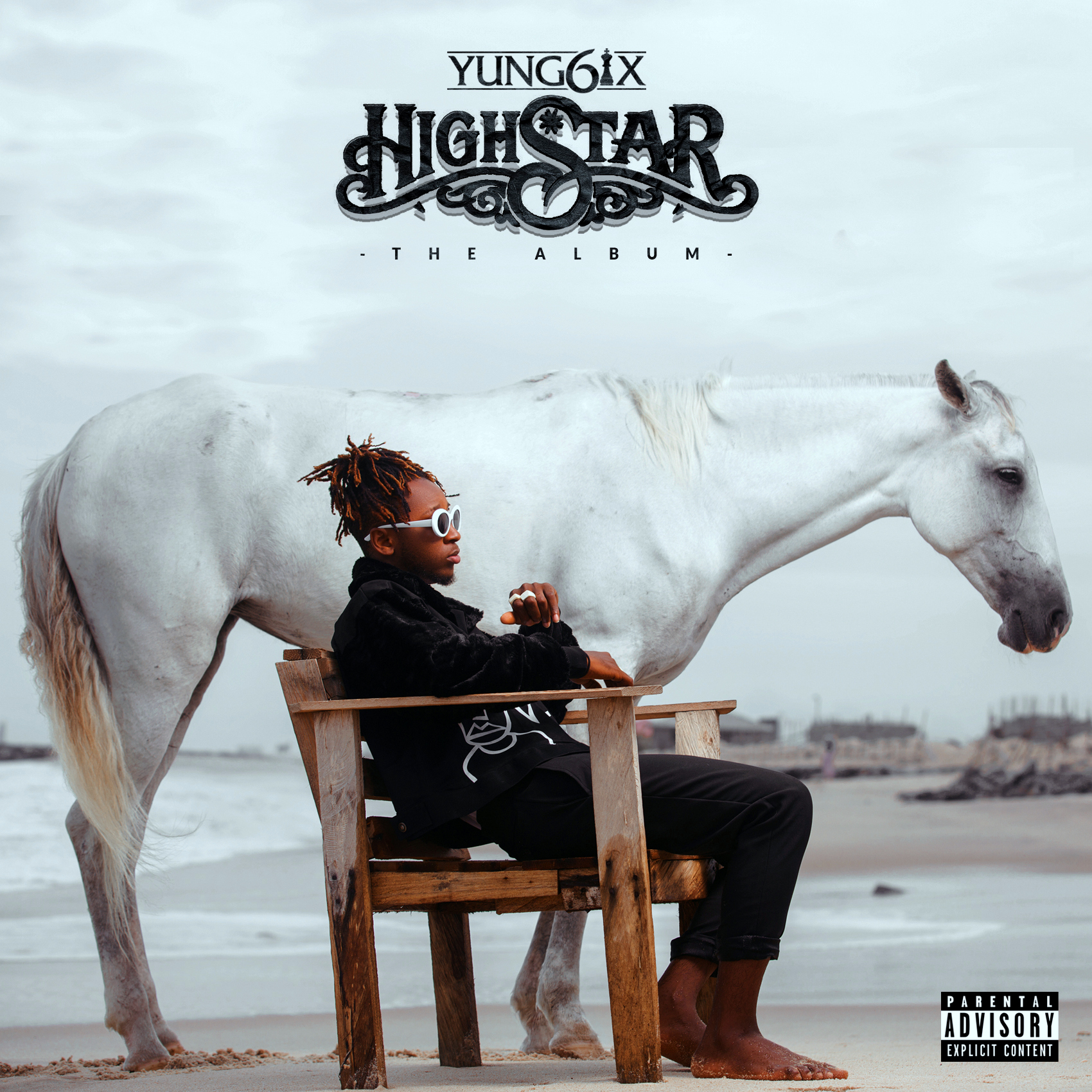 "PHOTO: Yung6ix Releases Powerful Album Art for ""High Star"" Album"