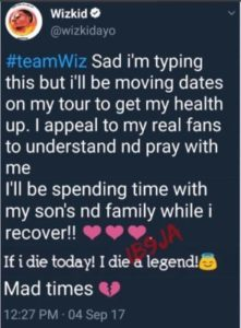 "Wizkid-6-239x300 ""If I Die Today, I Die A Legend"" – Wizkid Makes Scary Post"
