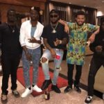 Davido & Other 30 Billion Gang Members Mock Mr. Eazi || WATCH