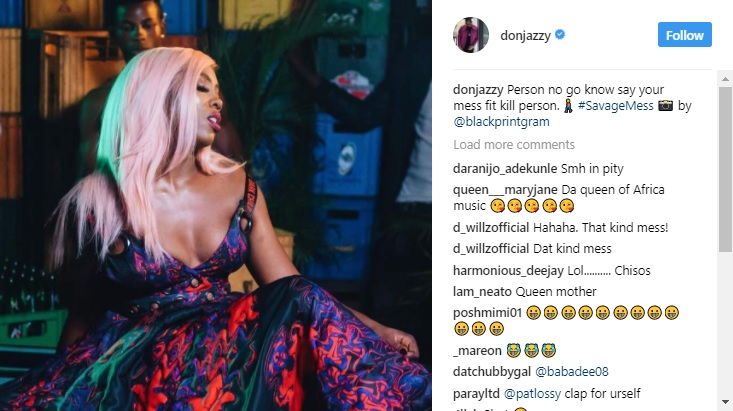 Watch Tiwa Savage Talk About Farting In This Funny Video #SAVAGEMESS! Don Jazzy Tiwa Savage Mess