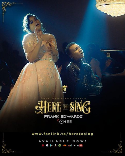 "[VIDEO]: Frank Edwards – ""Here To Sing"" (ft. Chee)"