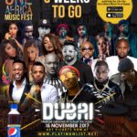 3 Weeks To Go!!! Countdown To One Africa Music Fest Dubai With WizKid, Davido, Tekno, Diamond Platnumz, Sarkodie, Vanessa Mdee, Cassper Nyovest, Tiwa Savage, 2Baba, Adel Ebrahim & Many Others!