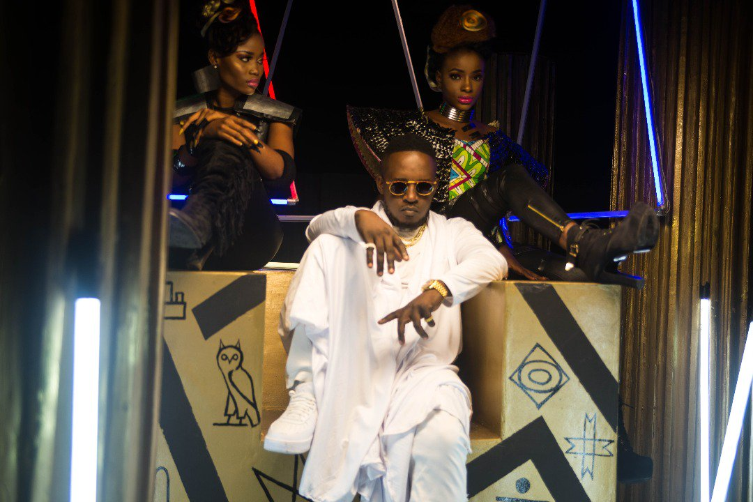 BTS PHOTOS: M I Abaga - You Rappers Should Fix Up Your Life