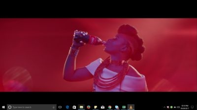 Yemi Alade Shows Off New Dance Steps In New Coke Studio TV Commercial