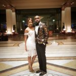 Banky W & His Fiance, Adesua Etomi Performs Duet On Stage || WATCH