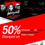 50% Off Buckwyld n' Breathless Ticket Sales