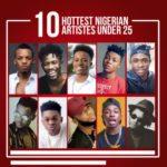 Kiss Daniel, Ycee, Tekno… Top 10 Hottest Nigerian Artistes Under 25
