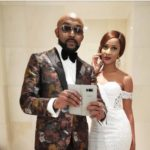 """My Goodness""…Excited Banky W Posts Nude Photo Of Adesua"