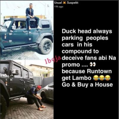 """Stop Deceiving Fans, Go And Buy A House""… Dammy Krane Shades Tekno [SEE PICTURE] Dammy Krane Tekno"