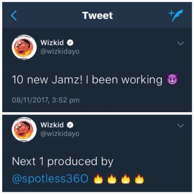 "wizkid next track ""10 New Jamz"" On The Way…Wizkid Gives Hint On His Next Track IMG 8679"