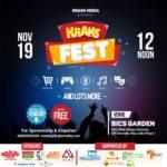 BREAKING NEWS! Kraks TV Is Bringing You All The Online Fun LIVE @ Kraks Fest This Sunday, 19/11/2017