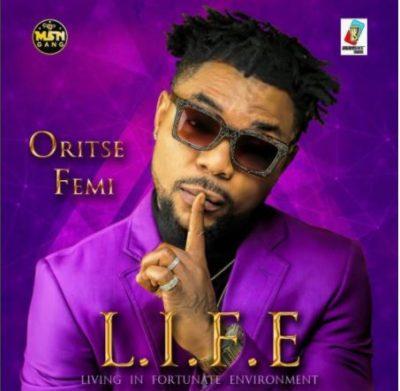 Oritse Femi Unveils Artwork & Title Of New Album