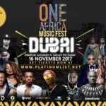 Count Down! 1 Day To 'One Africa Music Fest Dubai' @ Madinat Jumeirah