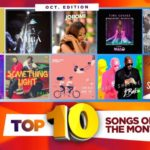 Top 10 Nigerian Songs For The Month – October Edition