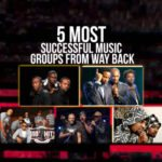 5 MOST SUCCESSFUL MUSIC GROUPS FROM WAY BACK