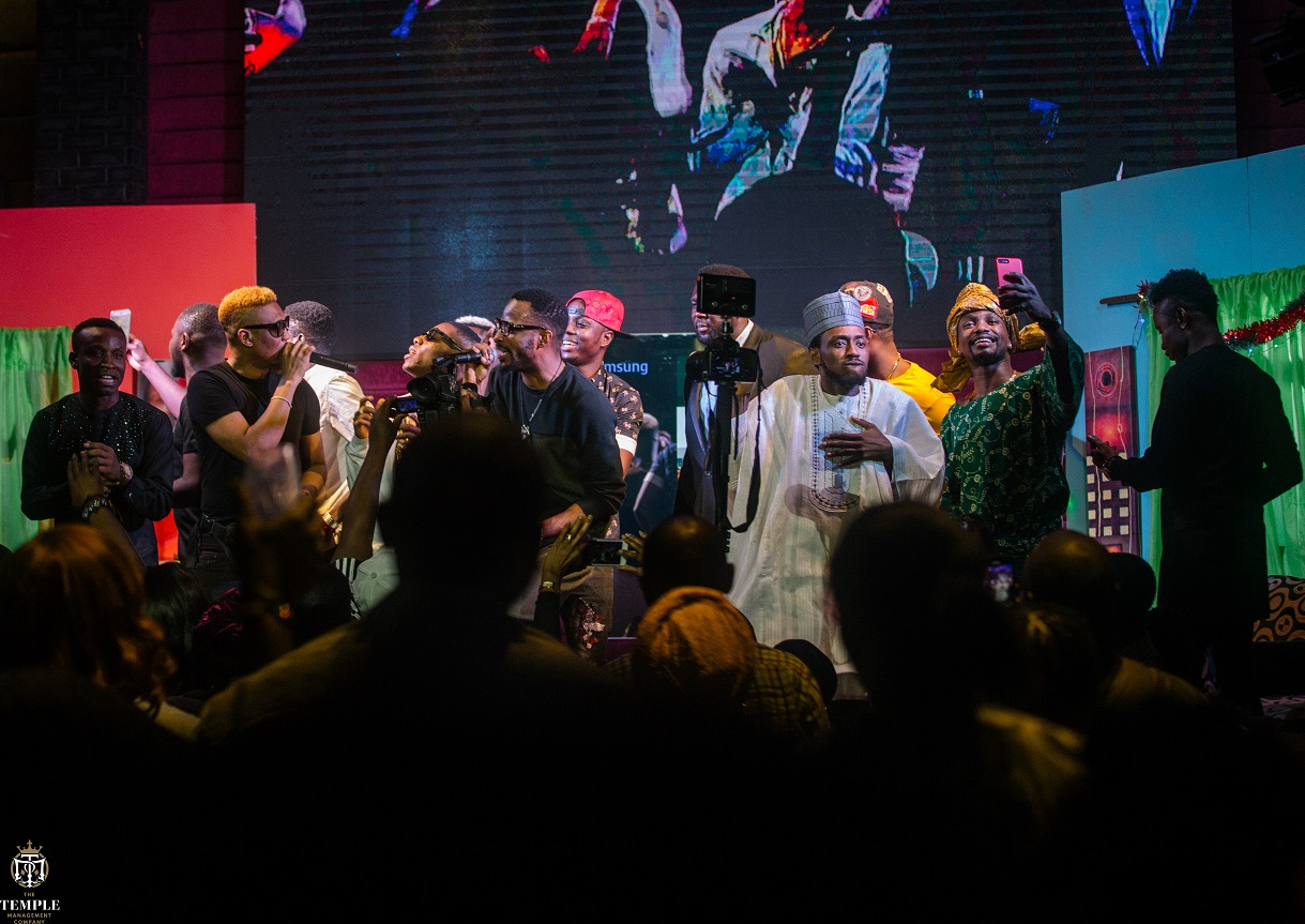 EXCLUSIVE PHOTOS: 9ice, Reminisce, Small Doctor, Iyanya, Lasisi Elenu, Others Thrill At Mama Tobi Untamed Concert