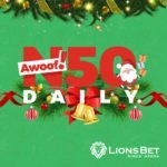 Don't Miss Your Chance To Win Awoof Daily From Lionsbet Santa! Click To Find Out How.