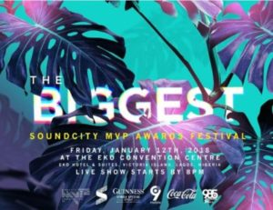 Wizkid, Davido, Olamide Nominated For 2017 Soundcity MVP Awards Festival || SEE FULL LIST