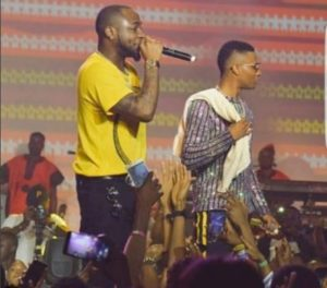 "MUST WATCH! Wizkid Invites Davido On Stage As They Perform ""Fia"""