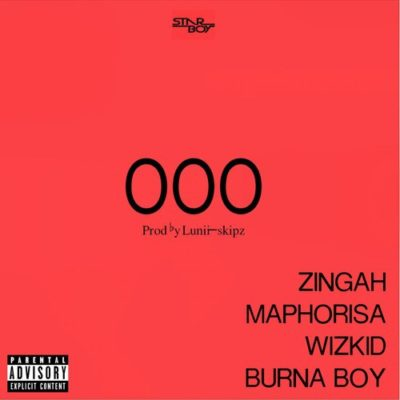 Music: Wizkid – OOO ft. Burna Boy, Zingah & Maphorisa