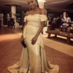 Simi Steps Out As Chief Bridesmaid At Her Mum's Wedding Ceremony || WATCH