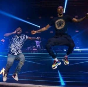 Download VIDEO: Davido, Wizkid Shutdown UK Concert With 'Manya' Performance || WATCH Davido W 300x296 mp3 mp4 GurusFiles.Com.Ng