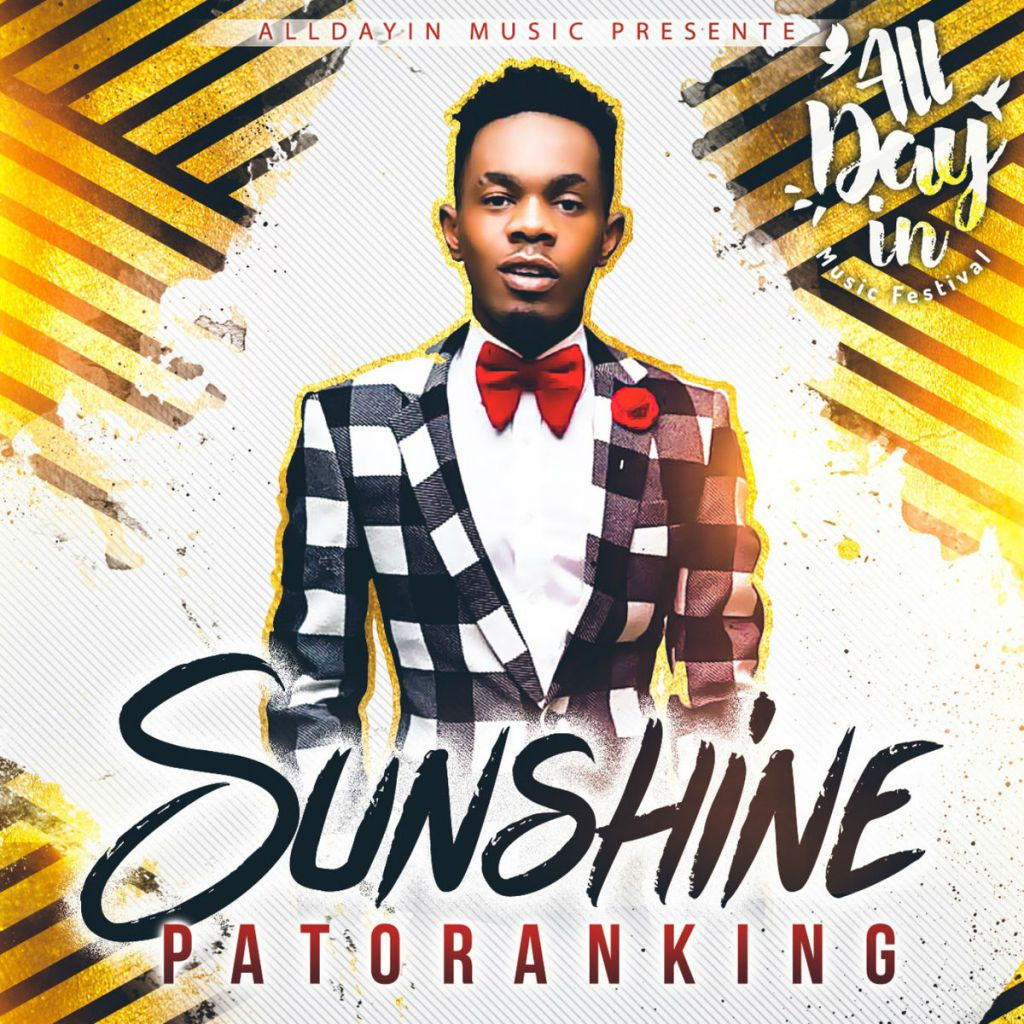 """First Dance Songs 2018: [Song] Patoranking – """"Sunshine"""" - TooXclusive"""
