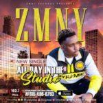 AUDIO+LYRIC VIDEO: Zmny – All Day In The Studio