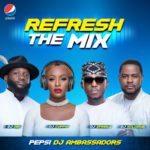 #RefreshTheMix: Spinall, Cuppy, Obi and Xclusive Are New Pepsi DJ Ambassadors